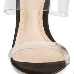 SCHUTZ Shoes - Schutz Ariella Clear Strap High Heel Sandals SZ 7